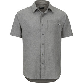 Marmot Aerobora Camisa Manga Corta Hombre, cinder